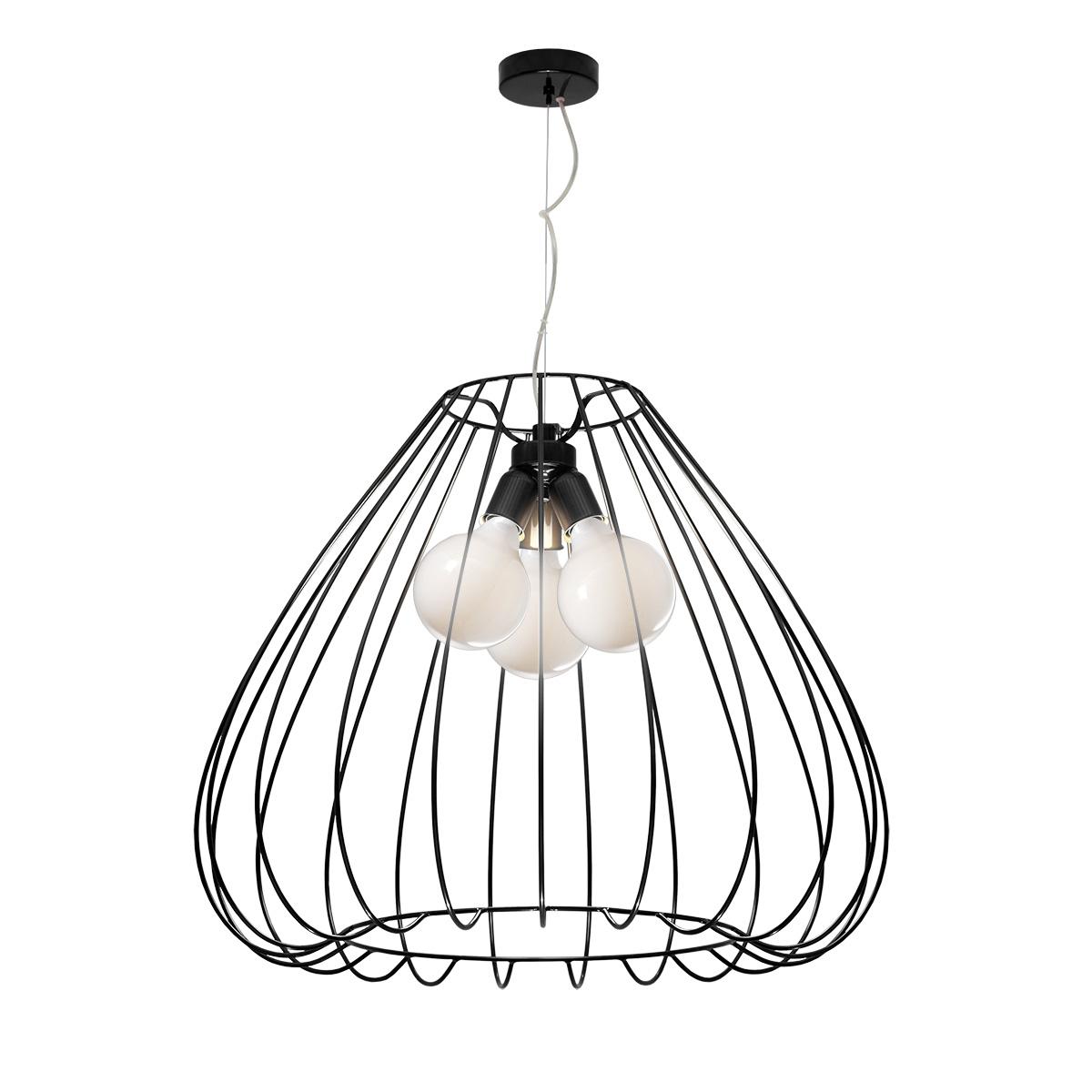 Κρεμαστό φωτιστικό κλουβί CELLI modern cage pendant light