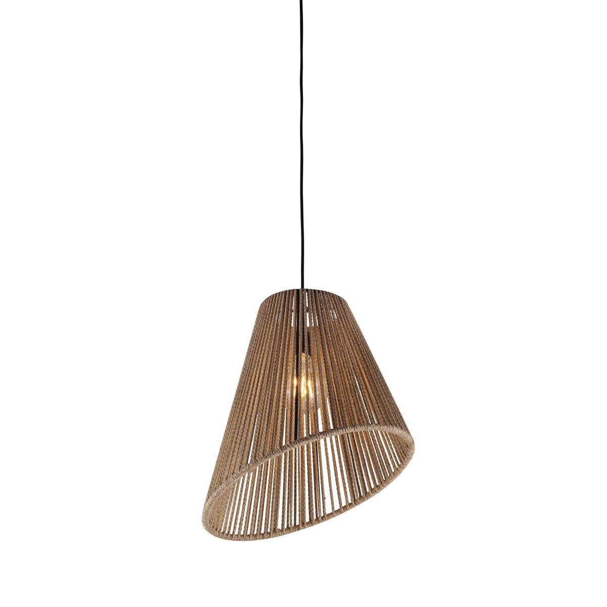 Μονόφωτο χειροποίητο CORD handmade suspension lamp