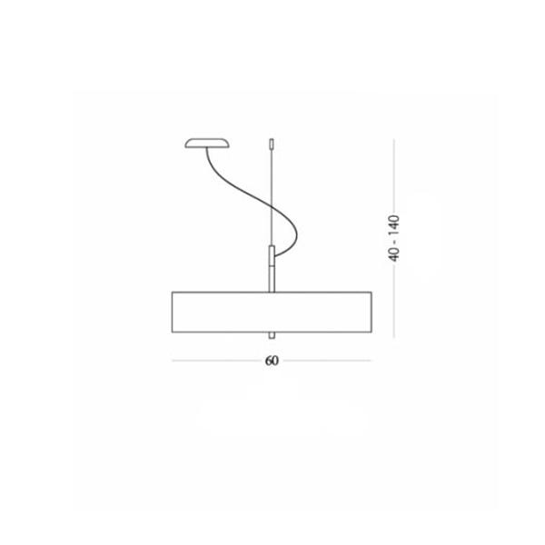 Κρεμαστό φωτιστικό | OVNI - Σχέδιο - Κρεμαστό φωτιστικό | OVNI
