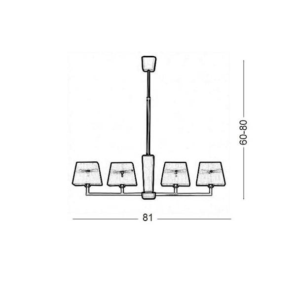 Φωτιστικό ράγα | TRAPEZIO ZEN - Σχέδιο - Φωτιστικό ράγα | TRAPEZIO ZEN
