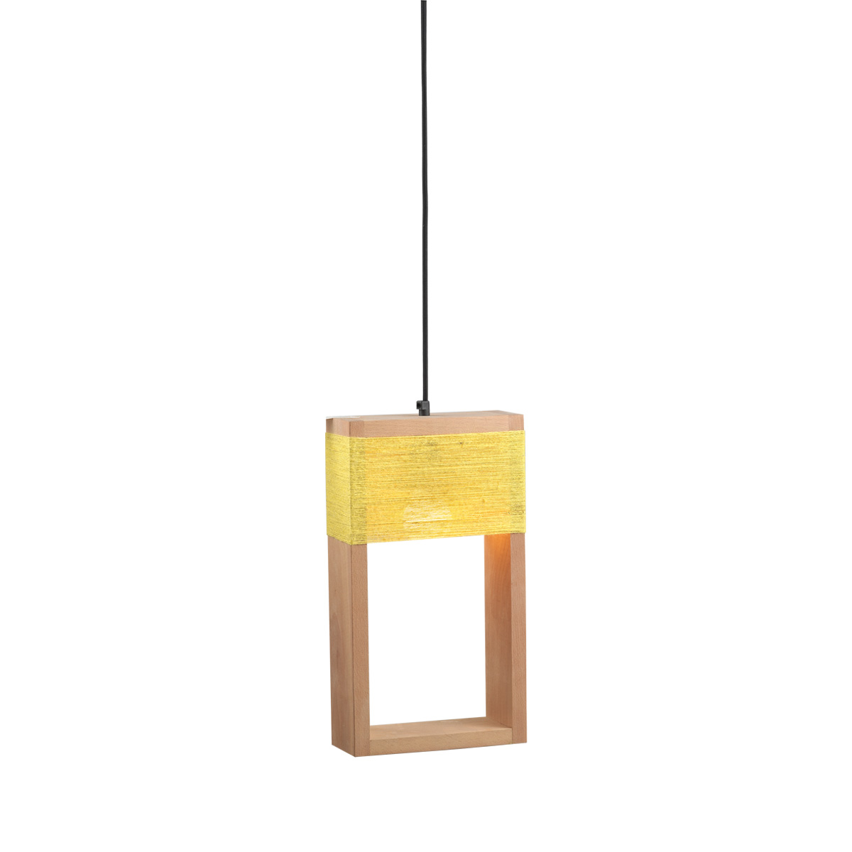 Ξύλινο κρεμαστό φωτιστικό SOHO wooden suspension lamp