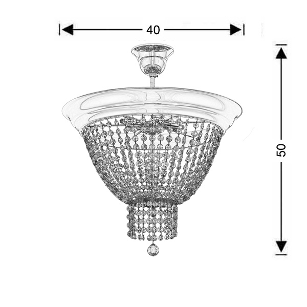 Ceiling lamp | PHAEDRA - Drawing - Ceiling lamp | PHAEDRA