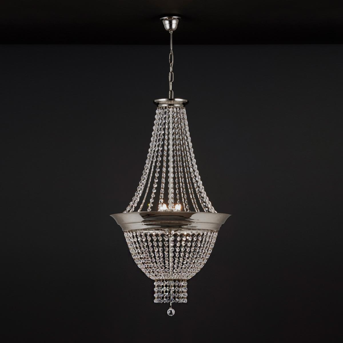 Φωτιστικό με κρύσταλλα ΦΑΙΔΡΑ suspension lamp with crystal accents