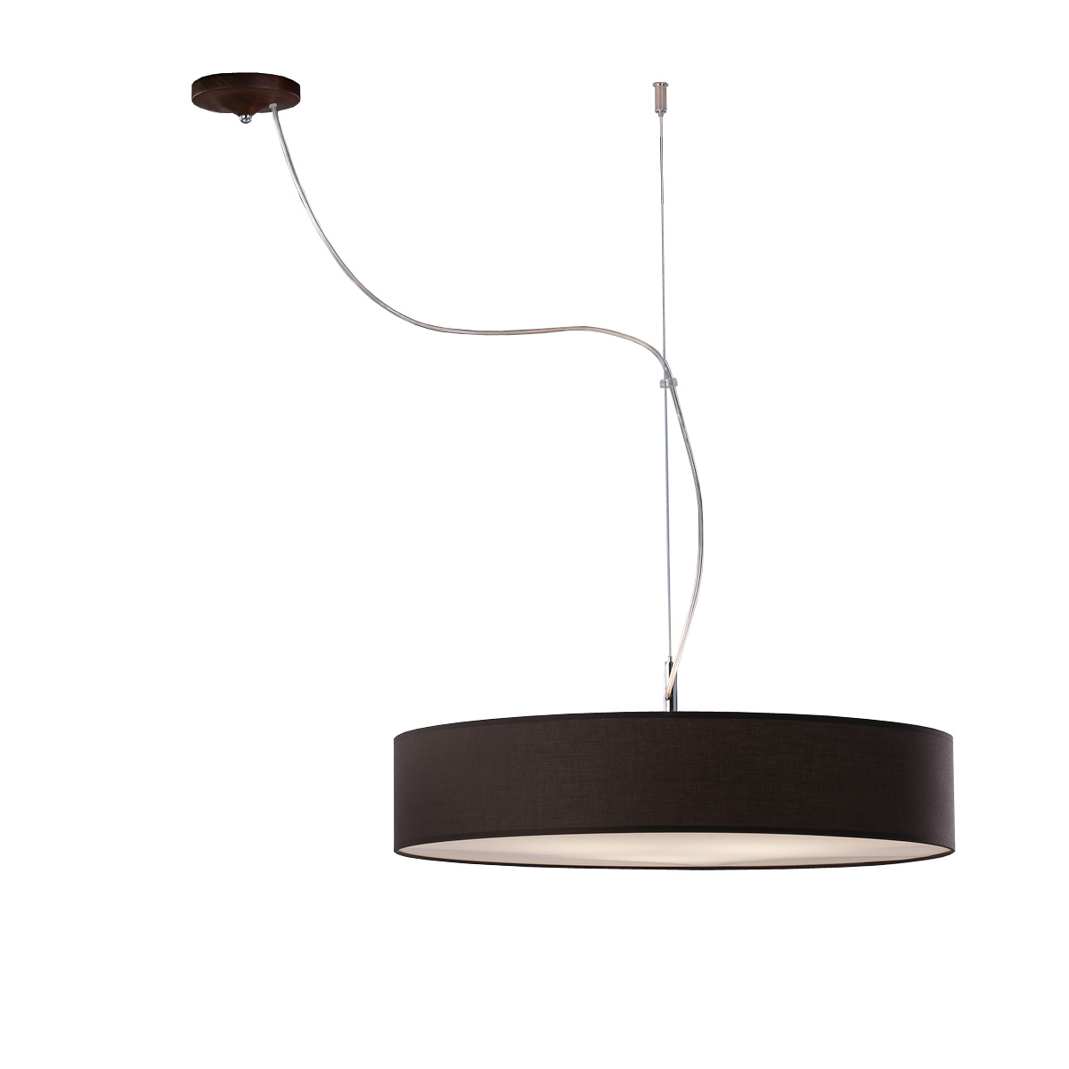 Ανθρακί φωτιστικό DISCO ZEN dark grey suspension lamp