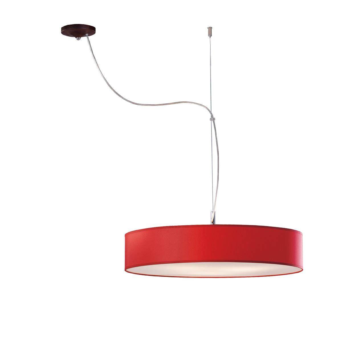 Κόκκινο φωτιστικό DISCO ZEN red suspension lamp