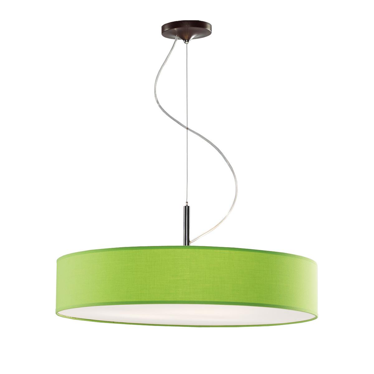 Κρεμαστό πράσινο φωτιστικό DISCO ZEN suspension lamp with green shade