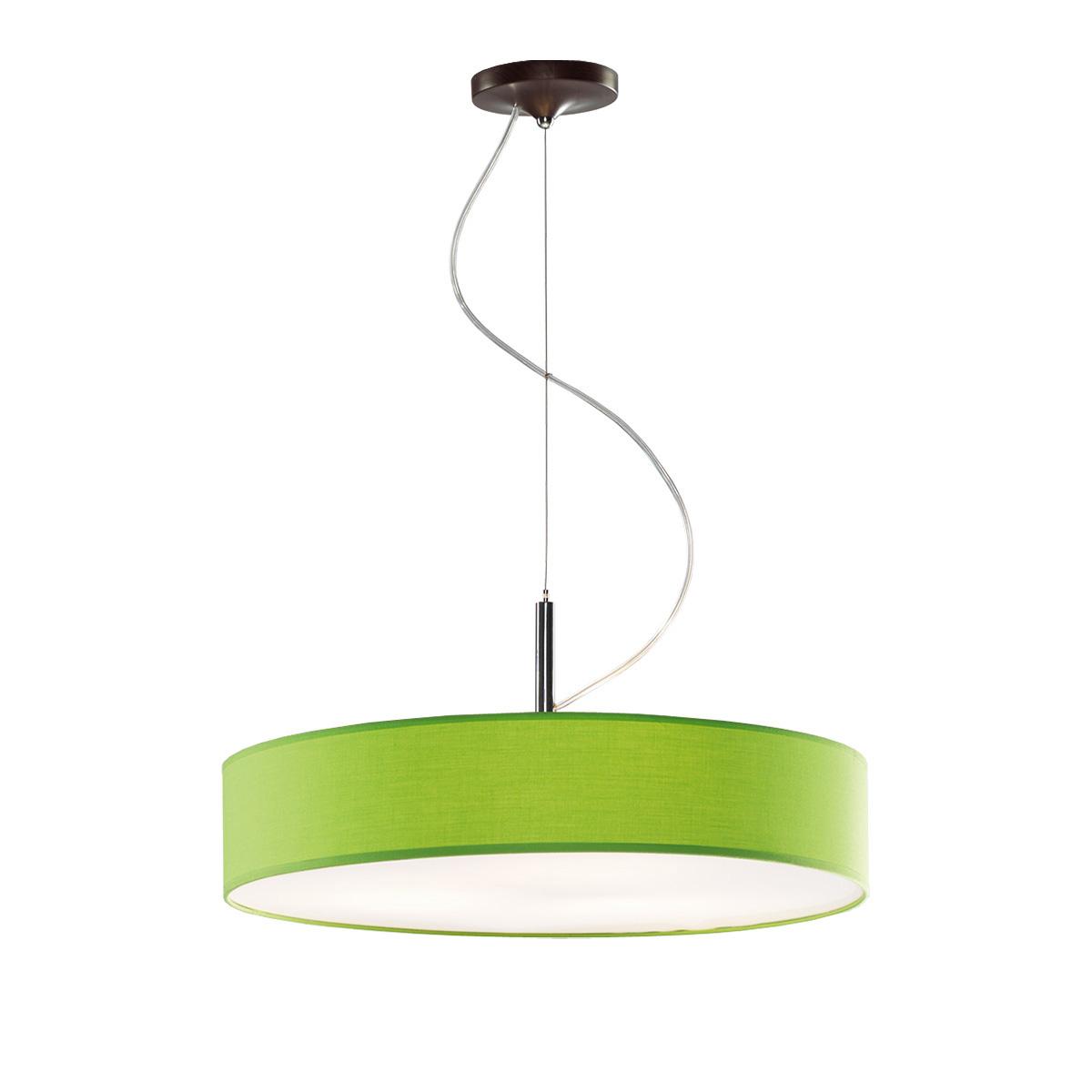 Κρεμαστό πράσινο μονόφωτο DISCO ZEN hanging lamp with green shade
