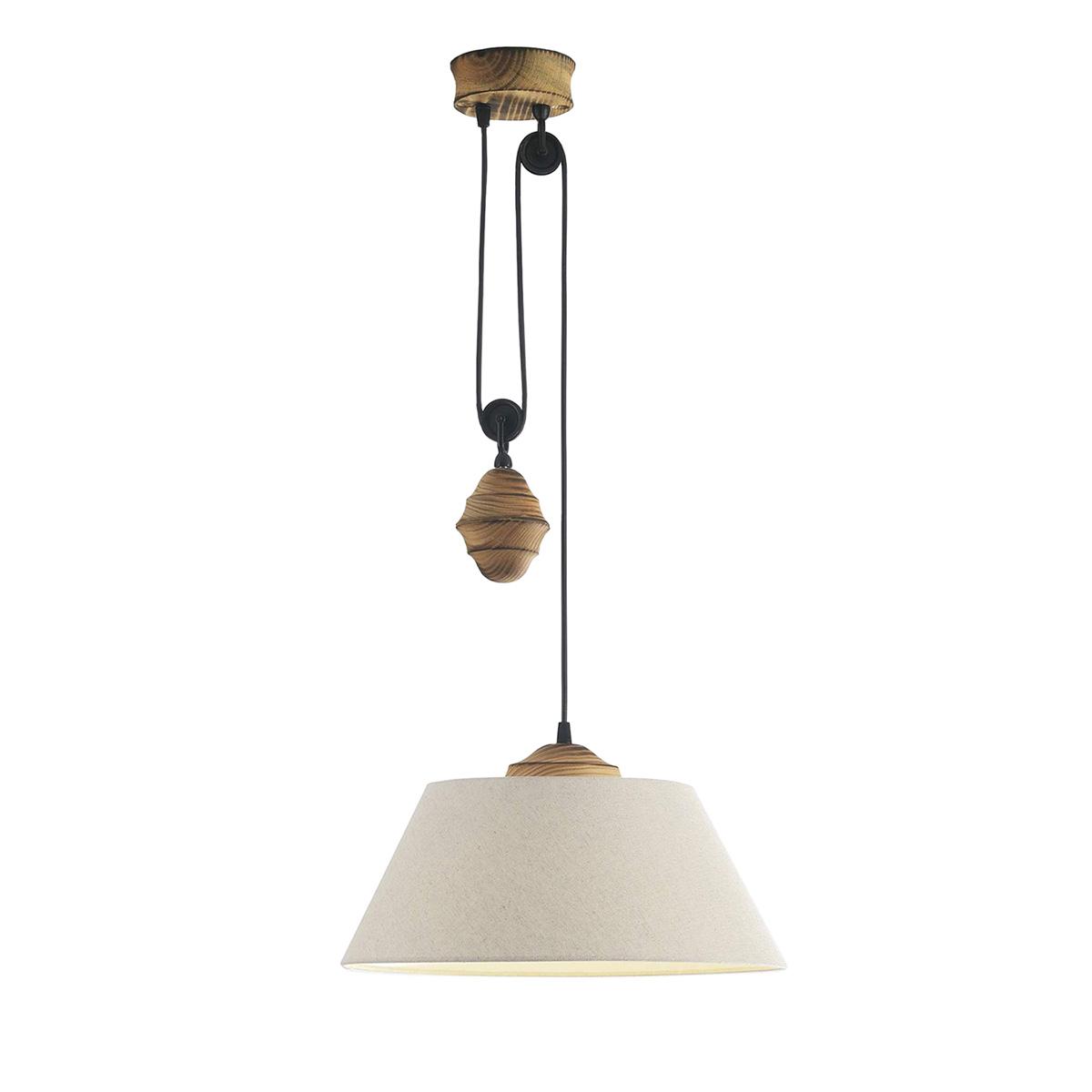 Φωτιστικό κρεμαστό με βαρίδι BAMBOO plumb pendant light
