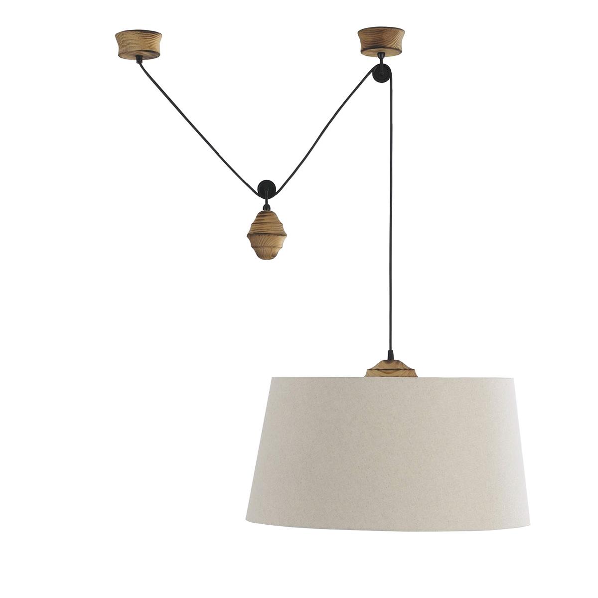 Φωτιστικό μονόφωτο με βαρίδι BAMBOO long plumb pendant light