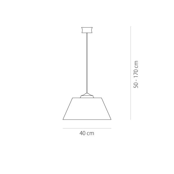 Φωτιστικό υφασμάτινο | BAMBOO - Σχέδιο - Φωτιστικό υφασμάτινο | BAMBOO