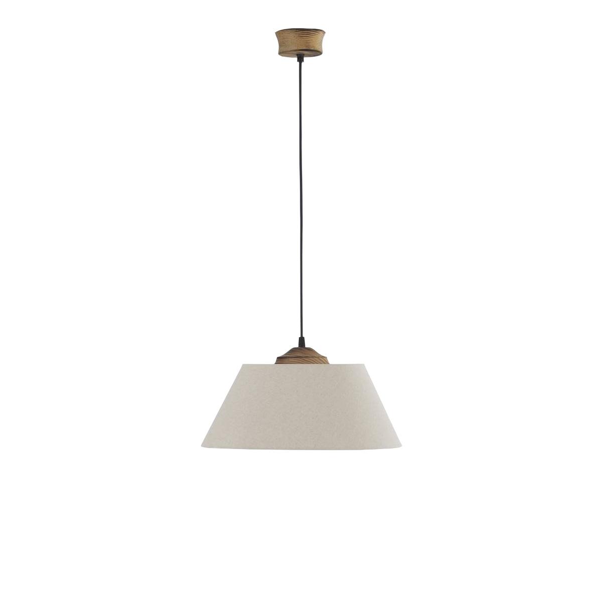 Φωτιστικό υφασμάτινο BAMBOO fabric pendant lamp