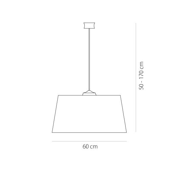 Φωτιστικό υφασμάτινο κρεμαστό | BAMBOO - Σχέδιο - Φωτιστικό υφασμάτινο κρεμαστό | BAMBOO