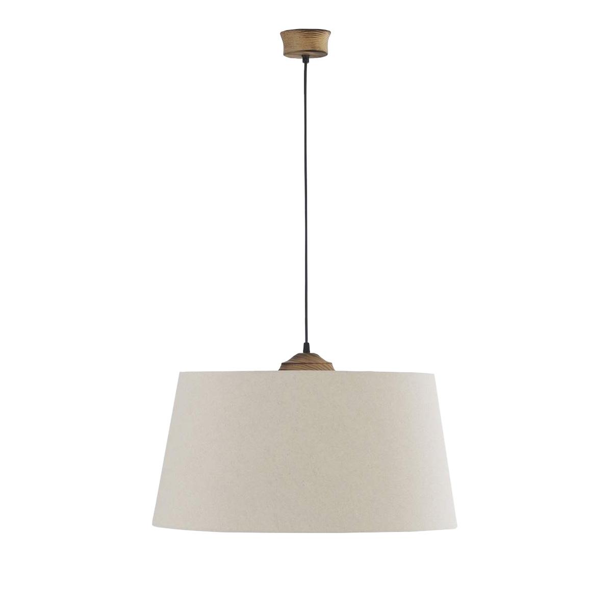Φωτιστικό υφασμάτινο κρεμαστό BAMBOO fabric suspension lamp