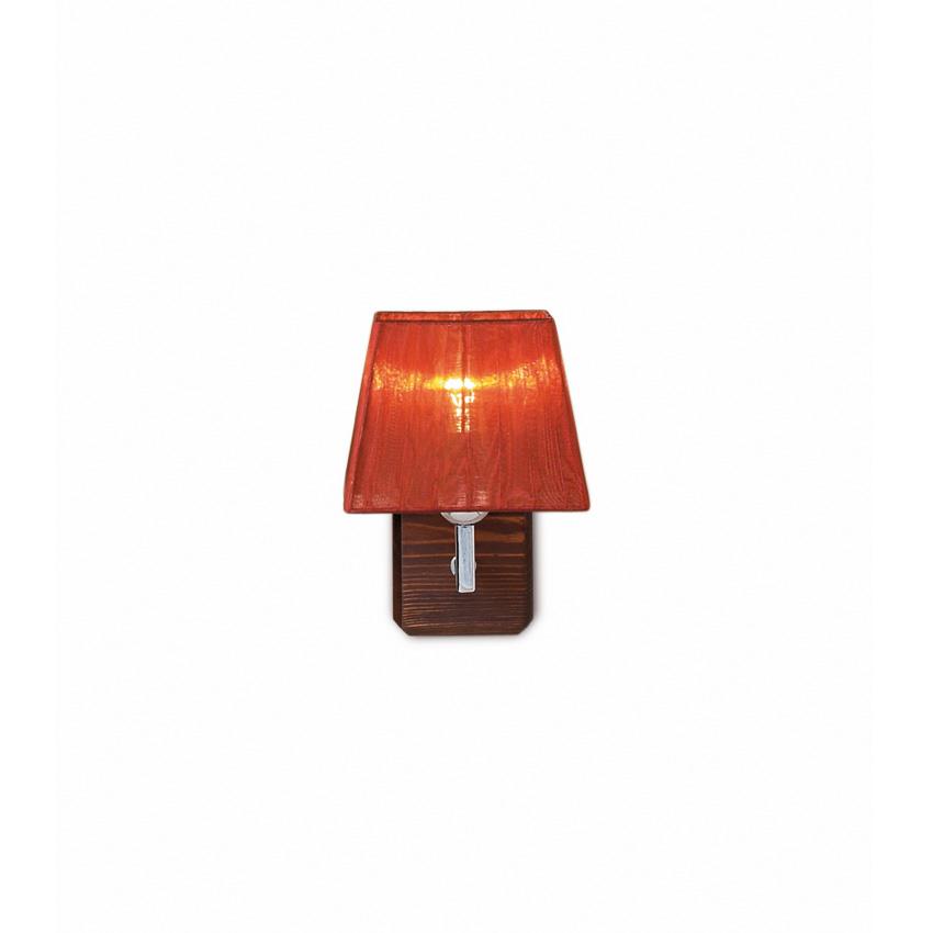 Απλίκα με ξύλο TRAPEZIO ZEN wall lamp