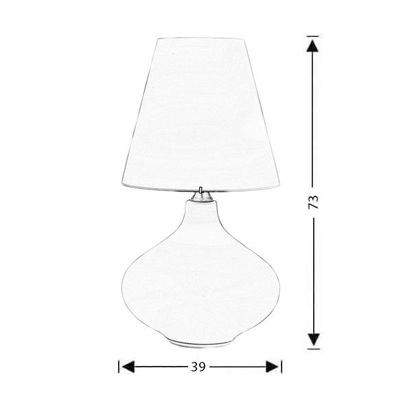 Επιτραπέζιο φωτιστικό Μουράνο | SOMBRERO - Σχέδιο - Επιτραπέζιο φωτιστικό Μουράνο | SOMBRERO