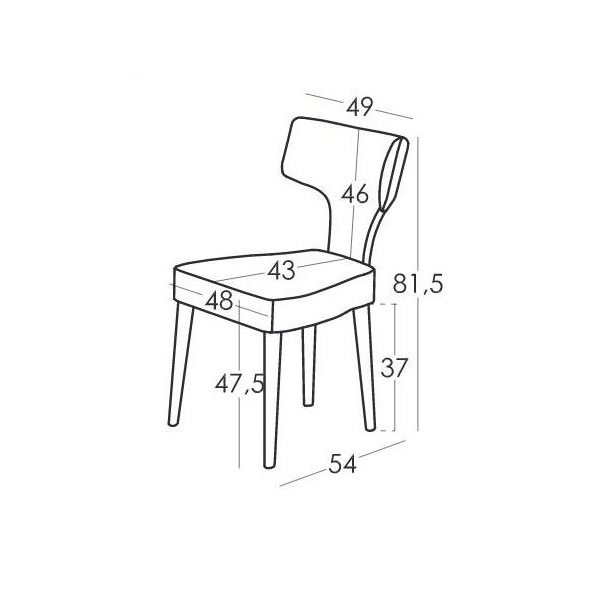 Chairs | MILI & LALO collection - Drawing - Chairs | MILI & LALO collection
