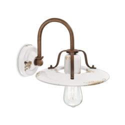 Κεραμικό επιτοίχιο φωτιστικό VINTAGE ceramic wall lamp