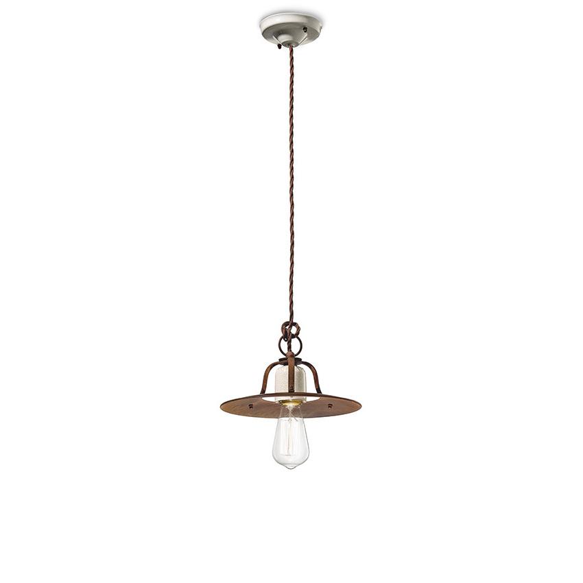Φωτιστικό ρετρό GRUNGE retro suspension lamp