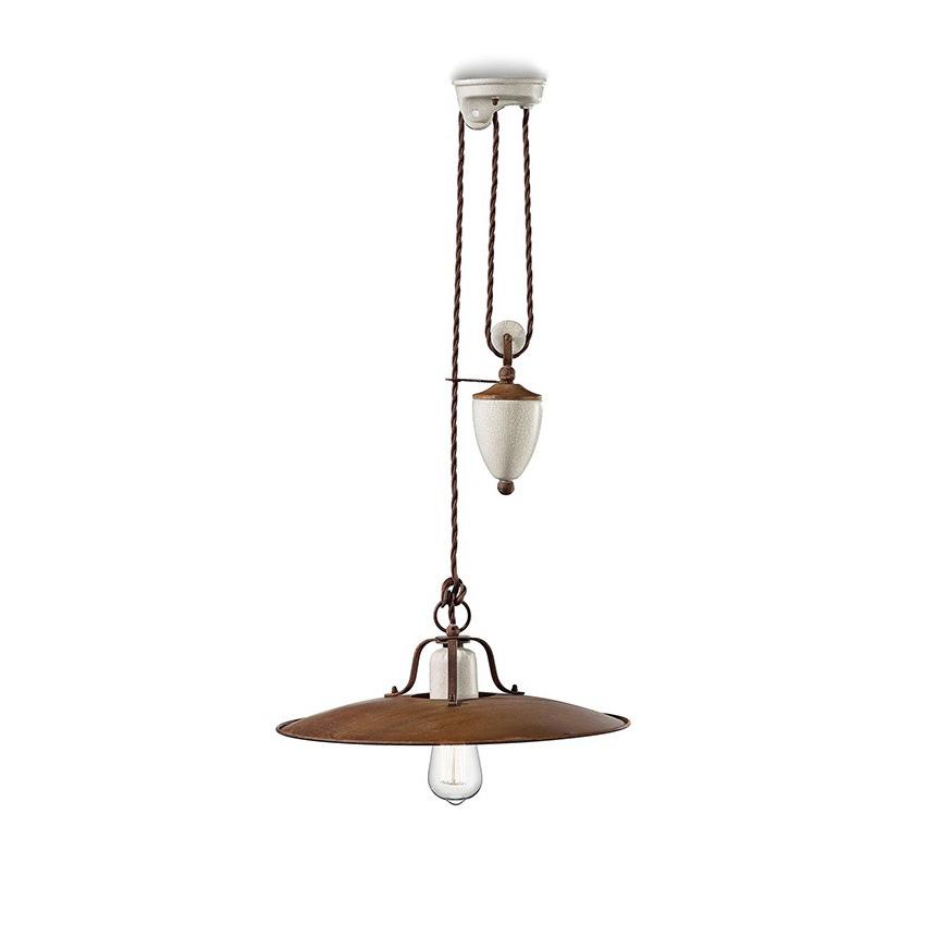Φωτιστικό με βαρίδι GRUNGE pendant lamp
