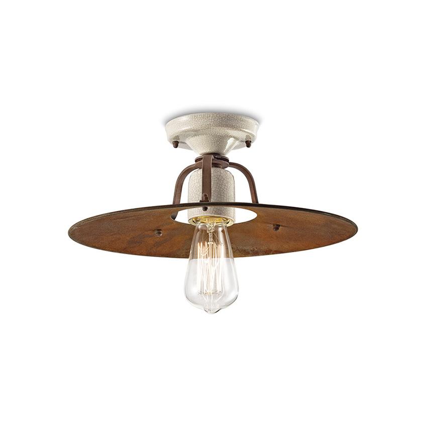 Φωτιστικό οροφής αντικέ GRUNGE vintage ceiling lamp