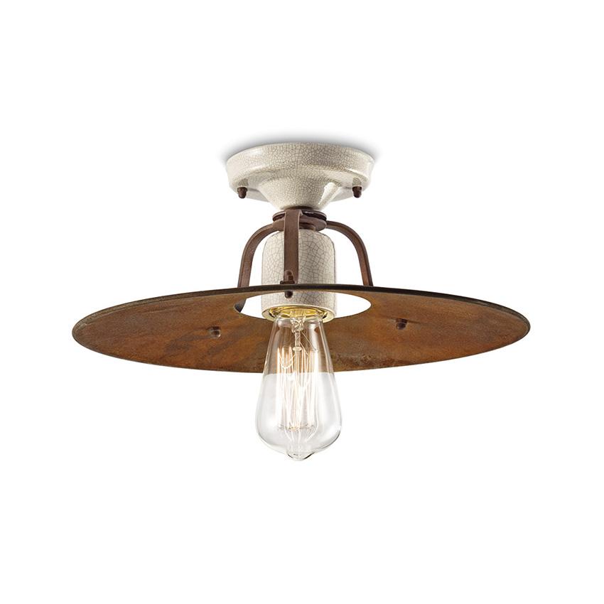 Φωτιστικό οροφής ρετρό GRUNGE retro ceiling lamp