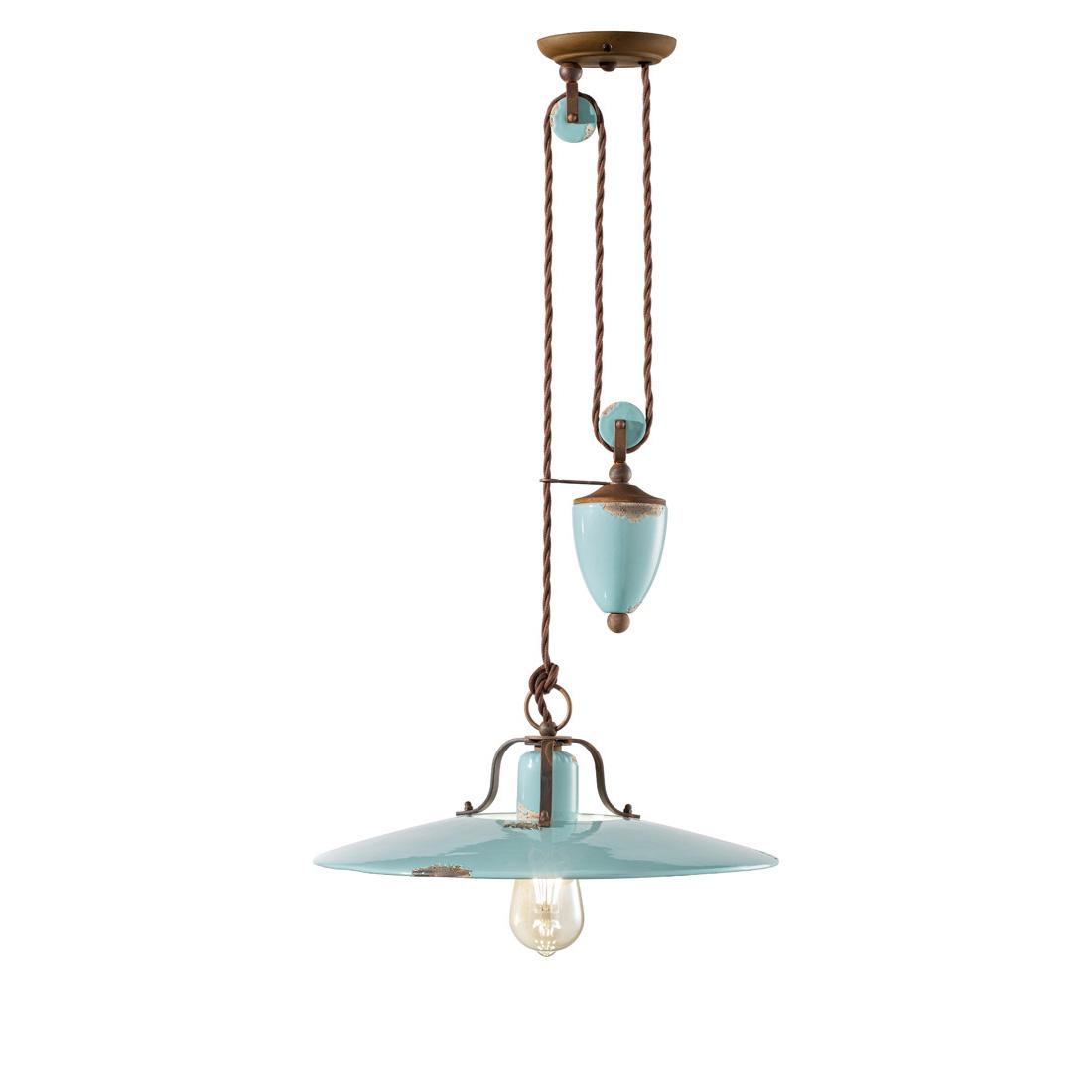 Κεραμικό φωτιστικό με βαρίδι VINTAGE ceramic pendant lamp