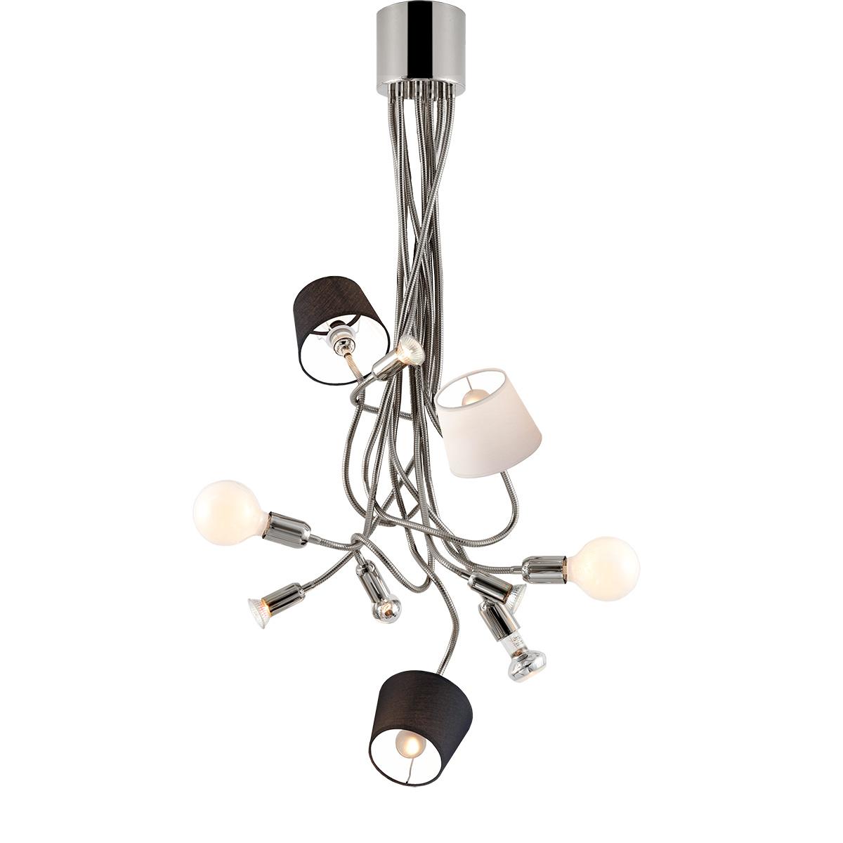 Μοντέρνο 10φωτο φωτιστικό FLEX 10-bulb chandelier