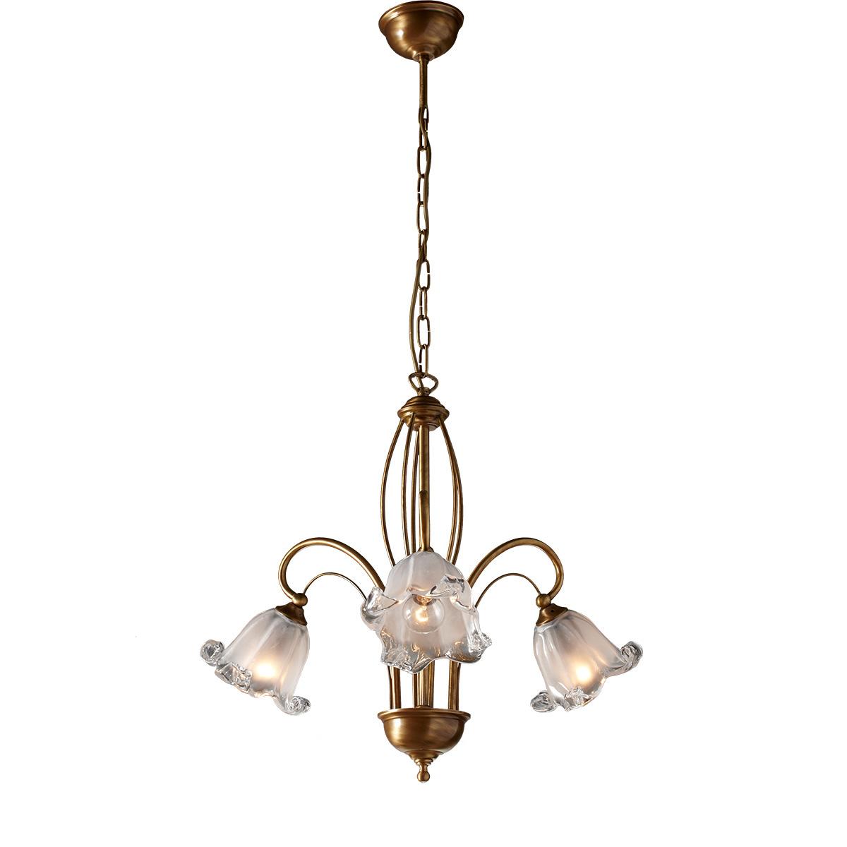 Κλασικό φωτιστικό με κρύσταλλα Murano ΝΥΜΦΑΙΟ classic chandelier with Murano crystals