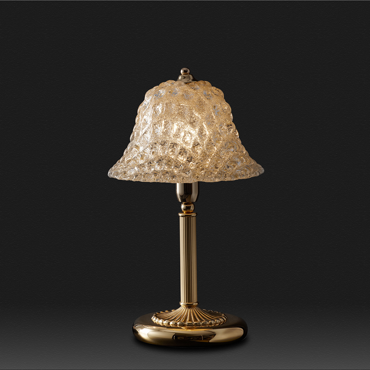 Κλασικό πορτατίφ με κρύσταλλο Μουράνο QUADRI classic Murano crystal table lamp
