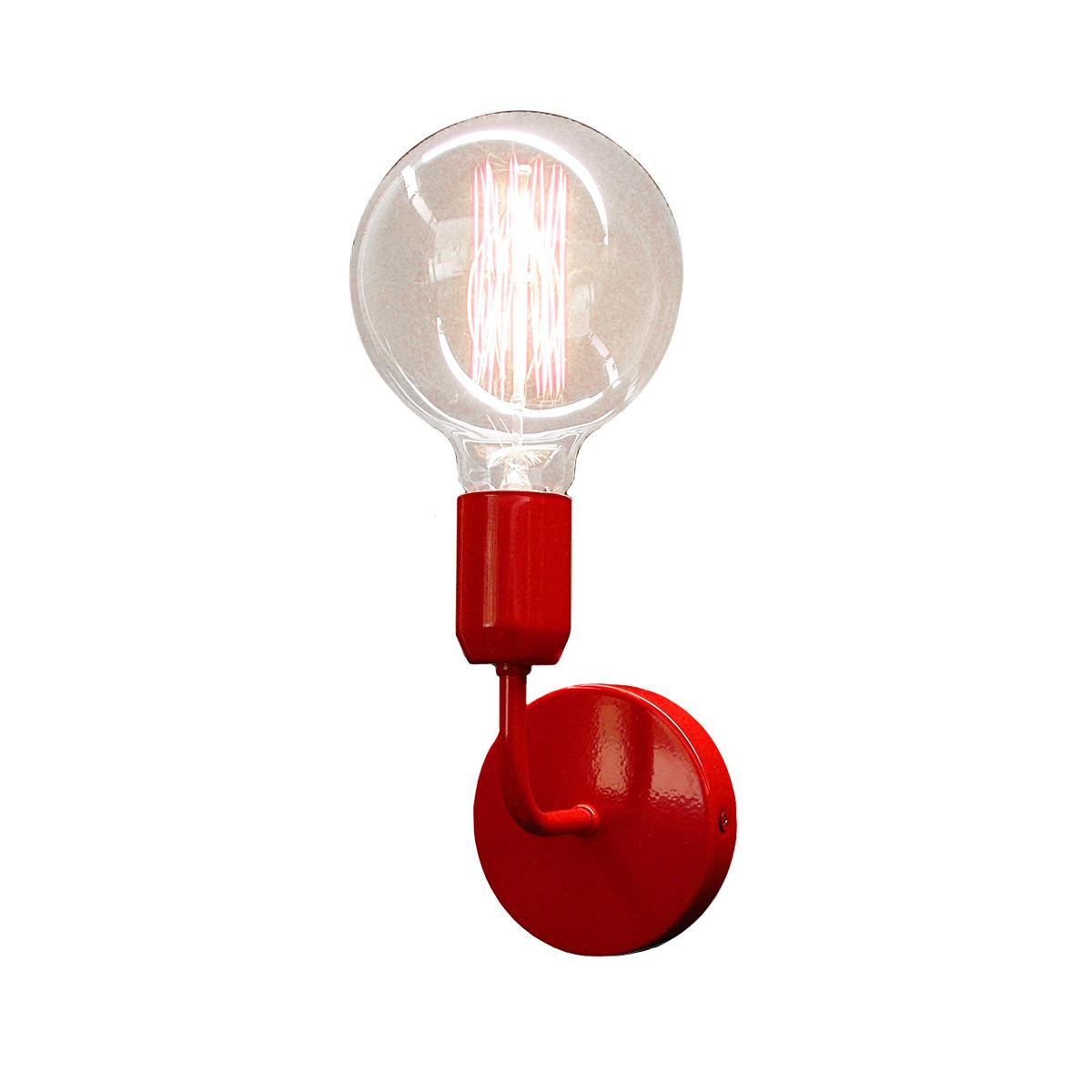 Κόκκινο φωτιστικό τοίχου ΛΑΜΠΕΣ red wall lamp