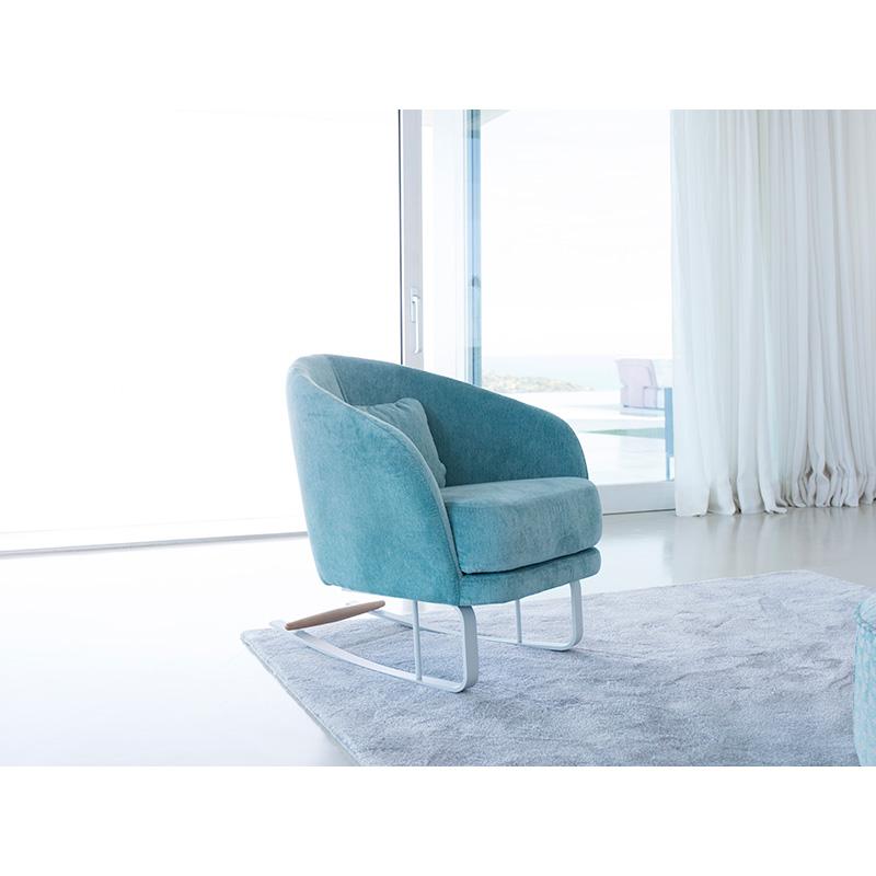 Κομψή πολυθρόνα ΚΟΜΒΑ light occasional armchair