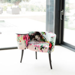 πολυθρόνα κουτσομπόλα LA CARACOLA upholstered furniture