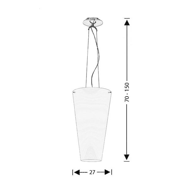 Φωτιστικό Μουράνο | ΚΩΝΟΙ - Σχέδιο - Φωτιστικό Μουράνο | ΚΩΝΟΙ
