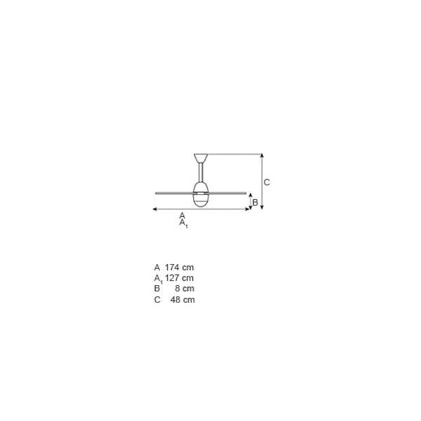 Ανεμιστήρας οροφής | LIBELLULA LED - Σχέδιο - Ανεμιστήρας οροφής | LIBELLULA LED