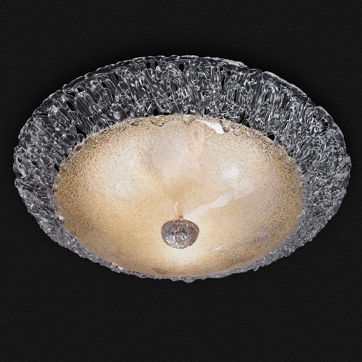 Πλαφονιέρα από κρύσταλλο Μουράνο MARTA classic Murano crystal ceiling lamp