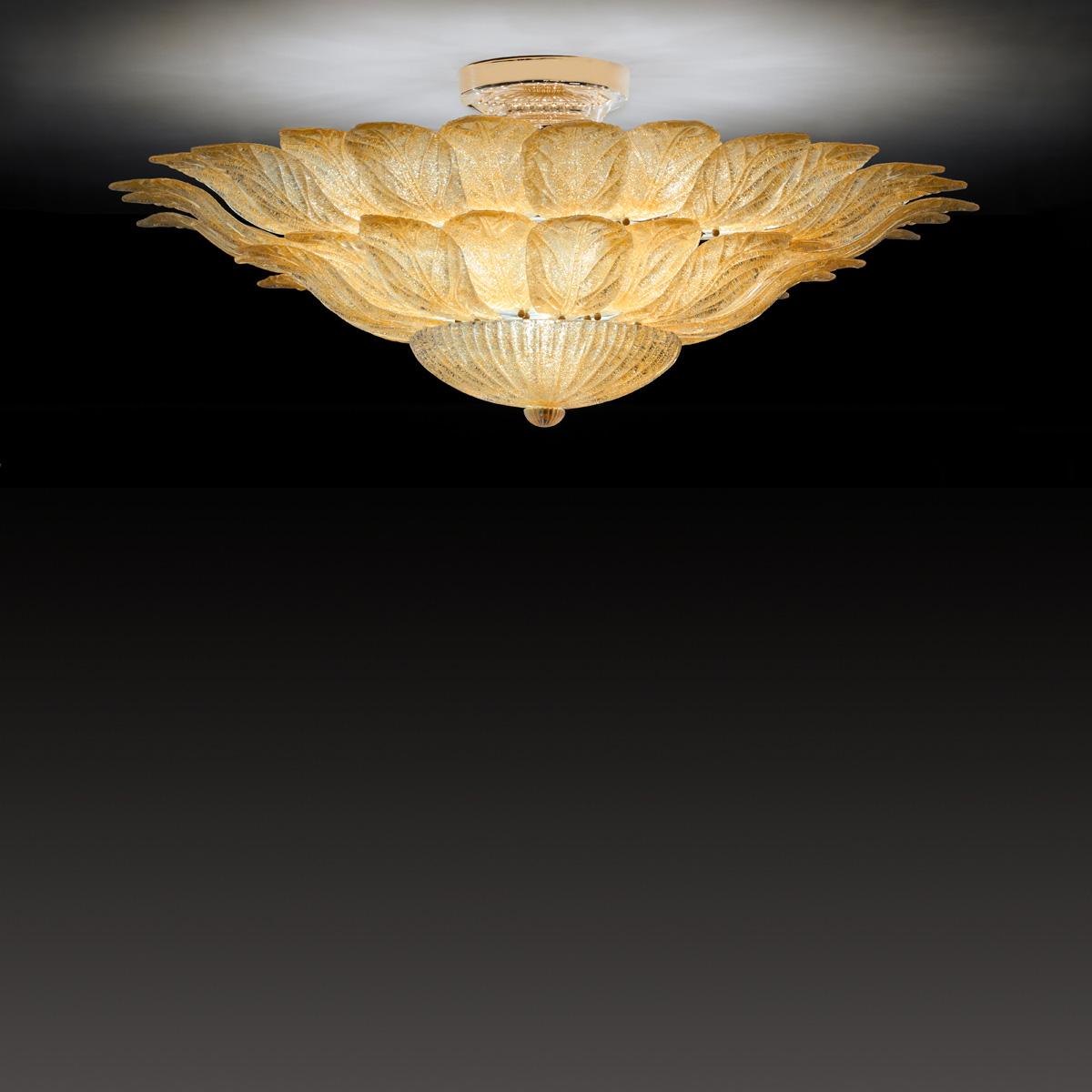 Εντυπωσιακό κλασικό φωτιστικό ημιοροφής STELLA impressive classical light fixture