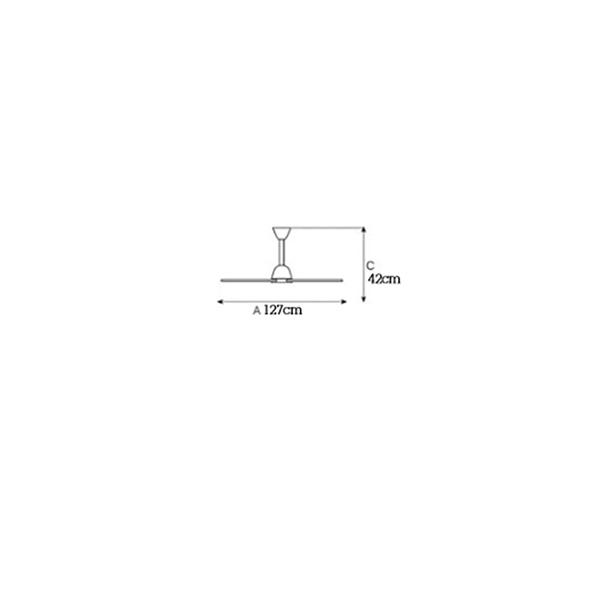 Ανεμιστήρας οροφής χωρίς φως | MAESTRALE - Σχέδιο - Ανεμιστήρας οροφής χωρίς φως | MAESTRALE