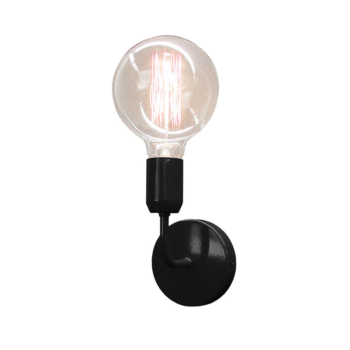Μαύρο φωτιστικό τοίχου ΛΑΜΠΕΣ black wall lamp