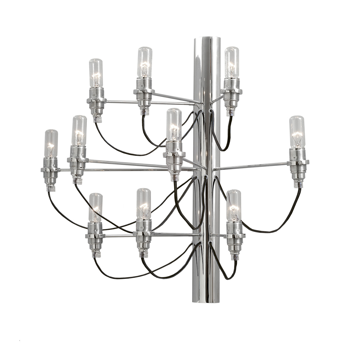 Μοντέρνα 10φωτη απλίκα ΑΚΤΙΝΕΣ modern 10-bulb wall lamp