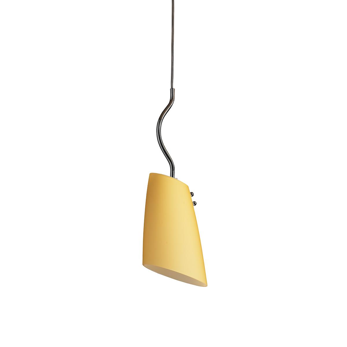 Μοντέρνο μονόφωτο Μουράνο DONNA modern Murano pendant lamp