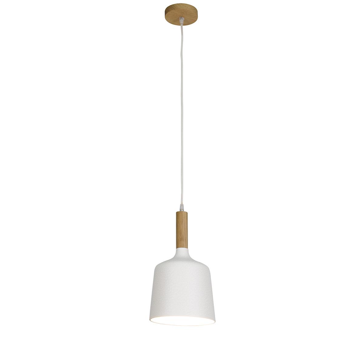 Μονόφωτο κρεμαστό κεραμικό DUO ceramic suspension lamp