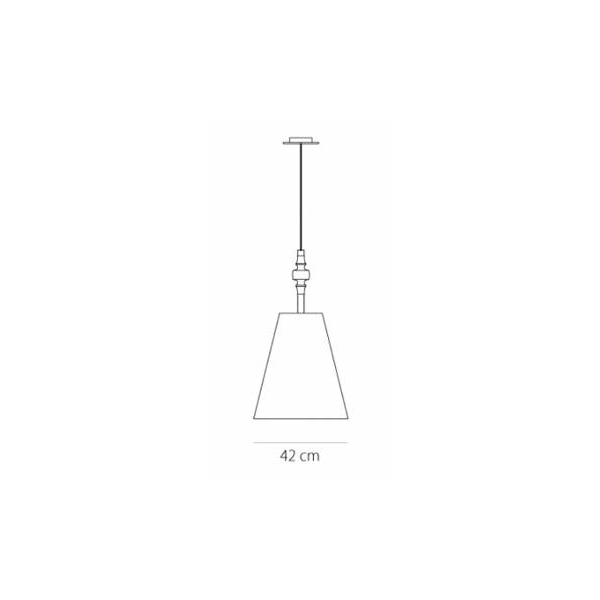 Wooden suspension lamp | TIMBER - Drawing - Wooden suspension lamp | TIMBER