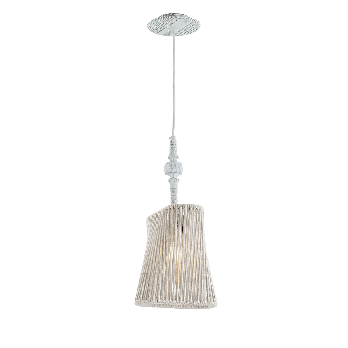 Μονόφωτο κρεμαστό ξύλινο TIMBER wooden suspension lamp