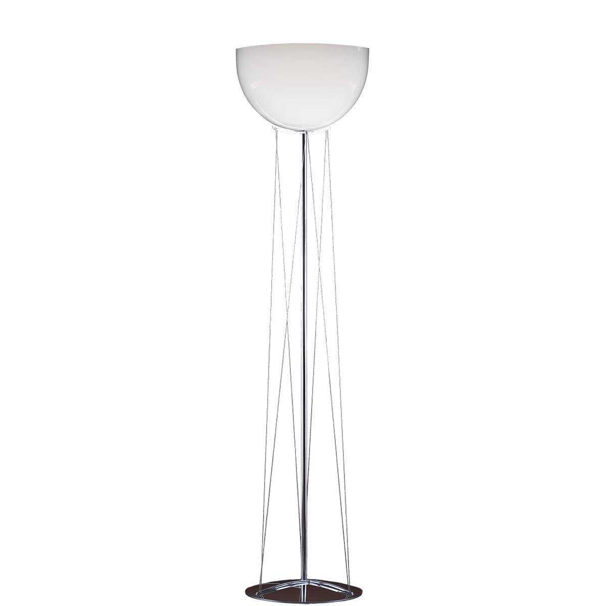 Φωτιστικό δαπέδου Μουράνο λευκό MARS modern white Murano floor lamp