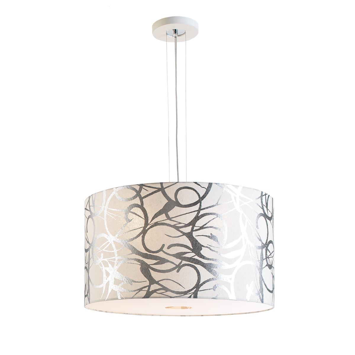 Υφασμάτινο μονόφωτο DISK II fabric pendant lamp