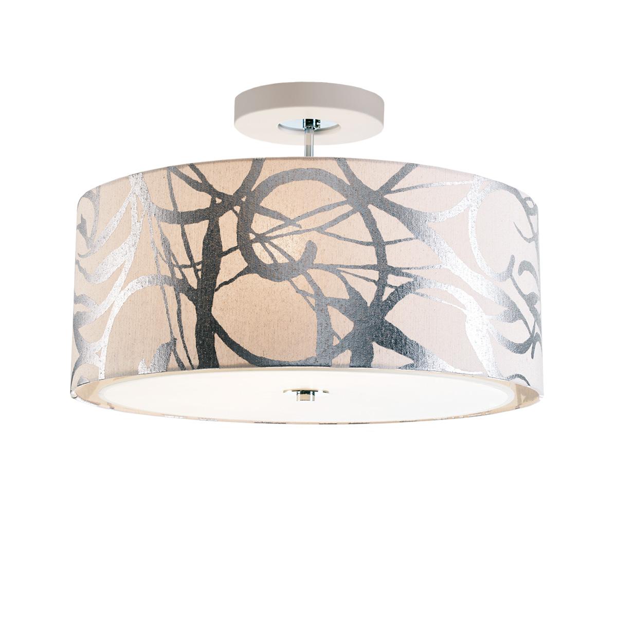 Υφασμάτινο φωτιστικό οροφής DISK II fabric ceiling lamp