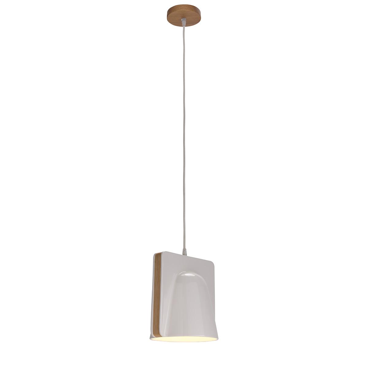 Μοντέρνο κρεμαστό μονόφωτο LAYERS modern ceramic suspension lamp