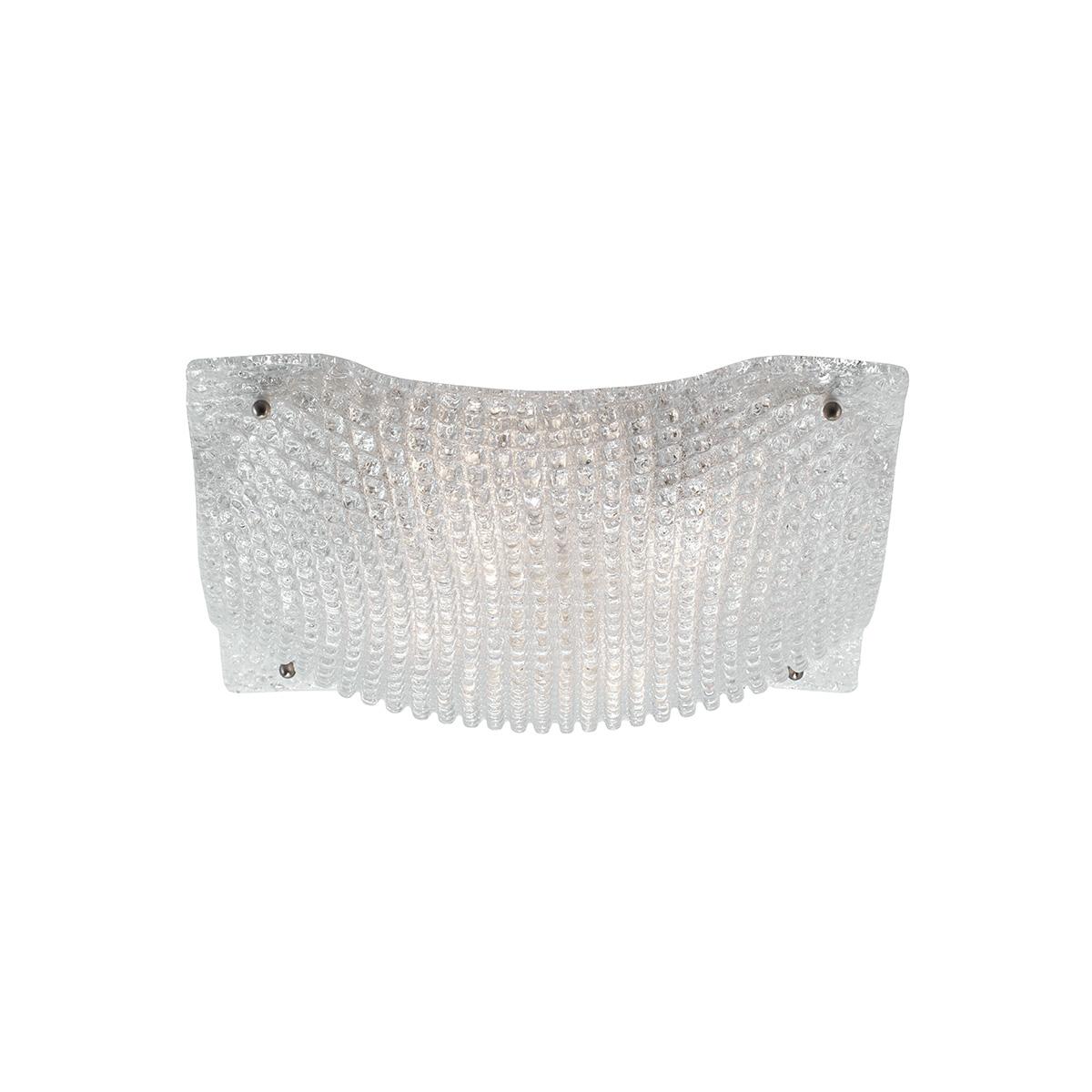 Φωτιστικό οροφής Μουράνο λευκό ΜΑΝΤΗΛΙ white Murano ceiling lamp