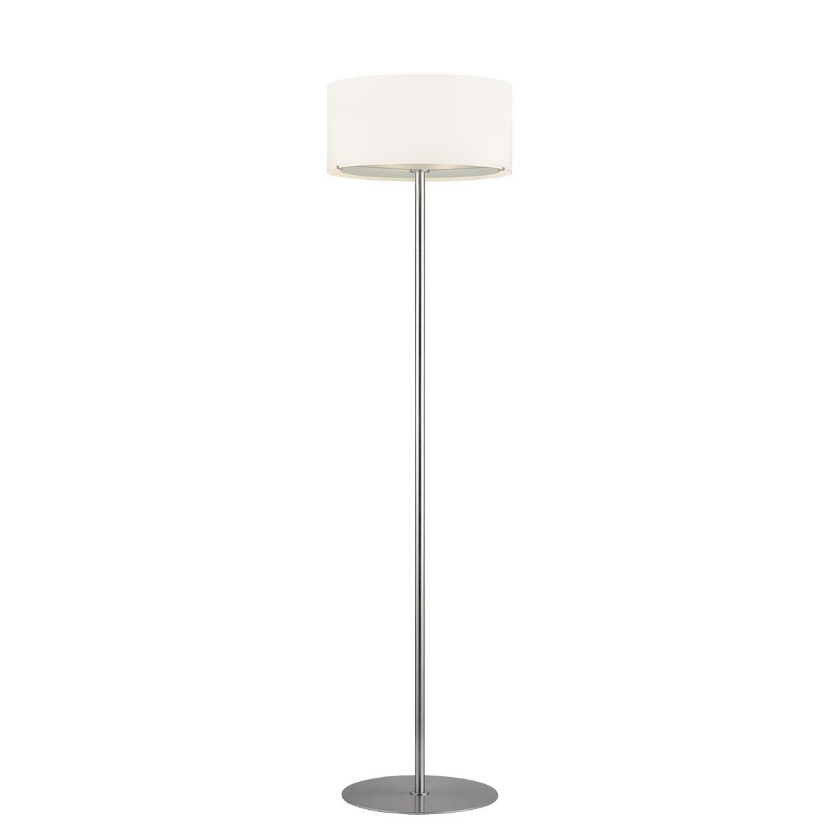 Φωτιστικό δαπέδου Μουράνο ΚΥΛΙΝΔΡΟΙ modern white Murano floor lamp