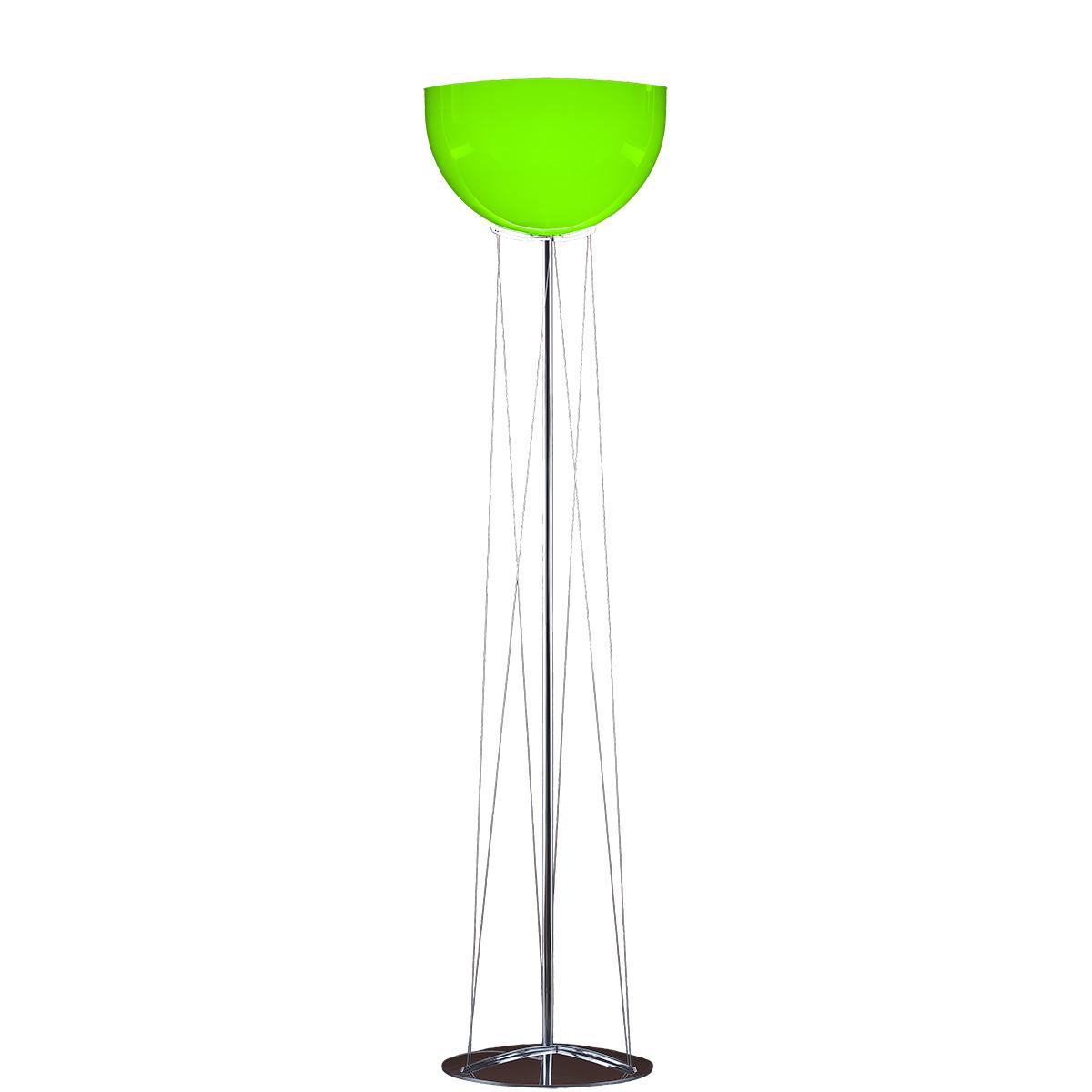 Φωτιστικό δαπέδου Μουράνο πράσινο MARS modern green Murano floor lamp